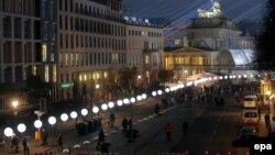 Берлин в дни 25-летия падения Стены