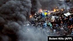 Протистояння правоохоронців та протестувальників на майдані Незалежності в Києві, 20 лютого 2014 року