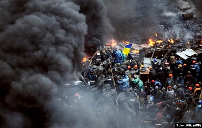 Революція гідності. Майдан Незалежності в Києві, 20 лютого 2014 року