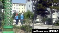 Дворники, Туркменистан (архивное фото)