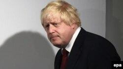 Лондонның бұрынғы мэрі Борис Джонсон.