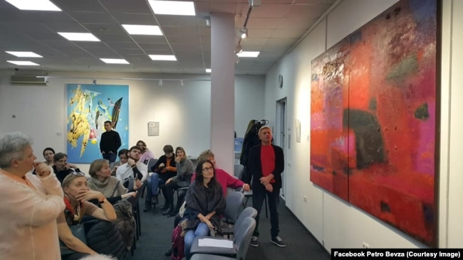 Проєкт «Століття української абстракції», прев'ю «Діалог у часі» (kmbs), 28 січня 2020 року