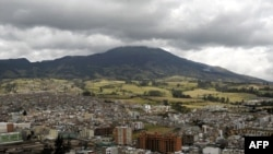Колумбиядағы Галерас жанартауы. Пасто, Норино. (Көрнекі сурет)