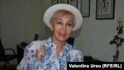 Eleonora Rusnac, preşedinta Asociaţiei Traducătorilor Profesionişti din Republica Moldova.