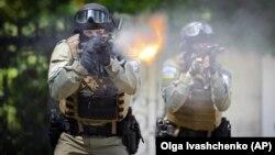 Учение на украинските специални части, 2014 г.