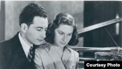 Ernst și Lory Wallfisch în anii '50