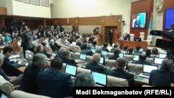Парламент мәжілісінің пленарлық отырысы