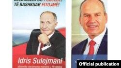 Кандидати за пратеници во Хрватска со потекло од Македонија - Идрис Сулејмани и Јонуз Алити.
