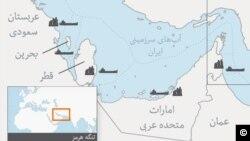 امارات متحده در شرق خود با دریای عمان نیز ساحل دارد و گزارش حوادث کشتیها مربوط به این منطقه است