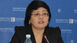 Зауреш Батталова, руководитель «Фонда развития парламентаризма в Казахстане».