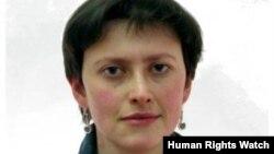 Мәскәүдә Human Rights Watchның Русия бүлеген җитәкләүче Анна Севортьян