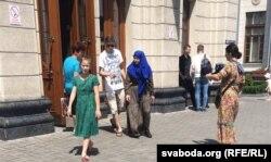 На Брестском Центральном вокзале. 27 июня 2016 г.