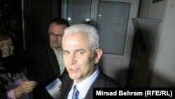 Budimir nakon puštanja iz pritvora 24. maja