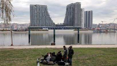 Migranti u Beogradu, decembar 2019.