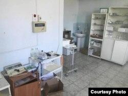 Один из кабинетов инфекционной больницы в Уральске.