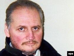 Teroristul venezuelian Ilich Ramirez Sanchez alias Carlos Șacalul (1974)