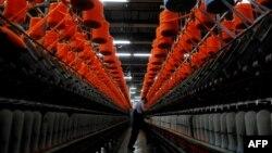 Fabrikë tekstili në Dragash, Kosovë.