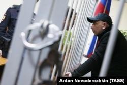 Андрій Захтей у Лефортовському суді Москви