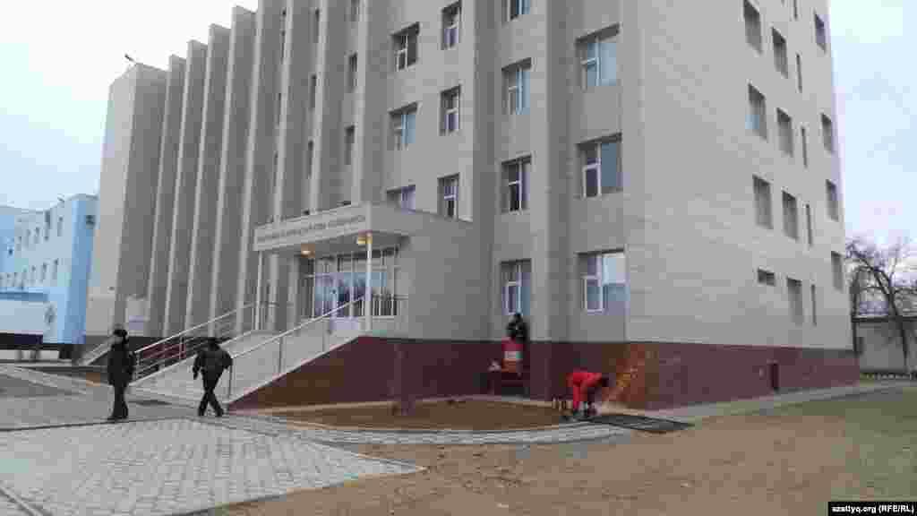 Новое здание управления внутренних дел Жанаозена.