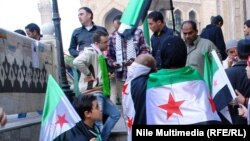 Демонстрація в Каїрі на підтримку сирійської опозиції, архівне фото