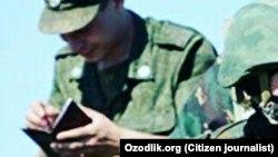 Узбекские пограничники. Иллюстративное фото.