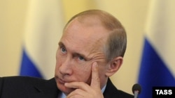 Russia -- President-elect Vladimir Putin at a meeting of the Finance Ministry's Collegium, Moscow, 17Apr2012