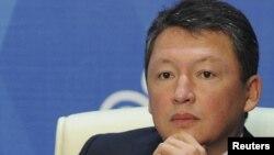 Тимур Кулибаев, бизнесмен, миллиардер по вресии журнала Forbes, зять президента Казахстана Нурсултана Назарбаева. Астана, 4 октября 2011 года.