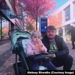 В Великобритании у Алексея Шматко родилась дочь