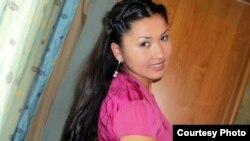 Тараздық компания қызметкері Жансая Үмбетова. Сурет жеке мұрағаттан алынды.