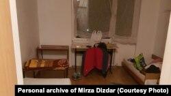 Soba Mirze Dizdara u karantinu, Studentski dom Bjelave Sarajevo, 20 april 2020.