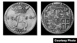 Талер Жыгімонта ІІІ Аўгуста. Вільня, 1564
