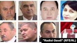 Акси раҳбарону намояндагони ҳизбҳои сиёсии Тоҷикистон