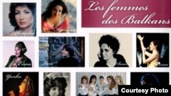 Omot za CD - Žene Balkana