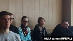 Активисты штаба Навального в Чебоксарах на суде Семена Кочкина