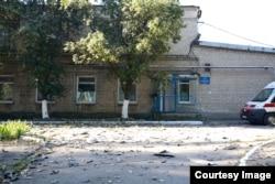 Фото из архива подстанции Марьинского района, пункт базирования в Красногоровке, 2014 год