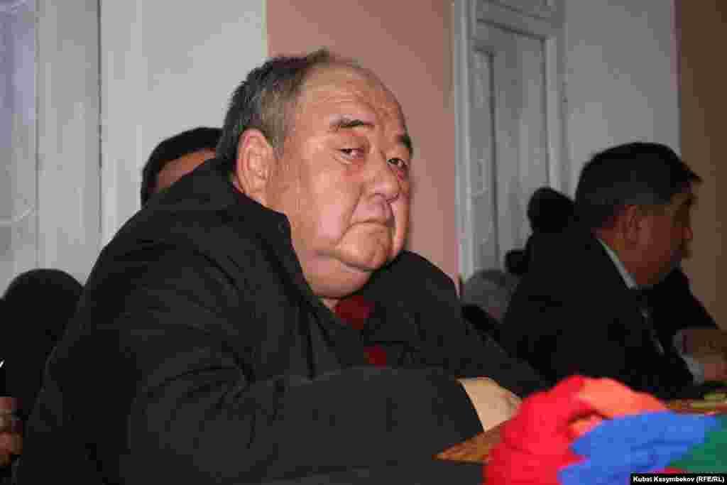 Токтогул Абдиев, адвокат Жапарова