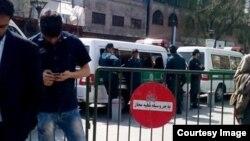 عکس از صفحه فیسبوک وبسایت مجذوبان نور