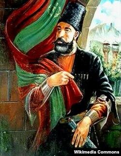 Cavad xanın xəyali portreti, Azərbaycan