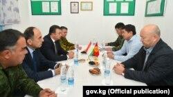 Встреча премьер-министров Кыргызстана и Таджикистана. 17 сентября 2019 года.