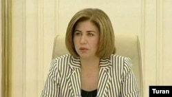 Вице-спикер парламента Азербайджана Бахар Мурадова