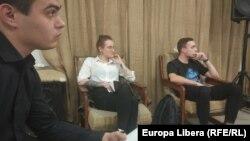 La prezentarea cărții Anul Tinereții, de la Club 19 de la Tiraspol