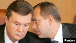 Віктор Янукович (ліворуч) та Андрій Клюєв. Архівне фото