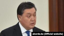 Премьер-министр Казахстана Аскар Мамин.