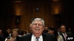 John Tefft gjatë dëshmisë në Senatin e SHBA-ve