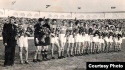 Менскі «Спартак» гуляў пры заўзятарскім ажыятажы, 1957 год