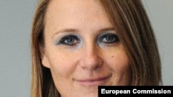 Майя Коцьянчич - пресс-секретарь верховного представителя ЕС по внешней политике Федерики Могерини