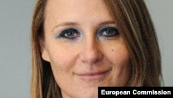 EU -- Maja Kocijancic, a spokeswoman for EU's foreign affairs chief, undated