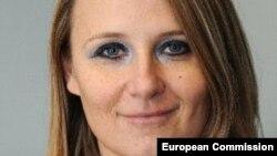 EU -- Maja Kocijancic, a spokeswoman for EU's foreign affairs chief, undated