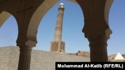 """منارة """"الحدباء"""" في الموصل"""