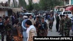 آرشیف، نیروهای منیتی افغان در بدخشان